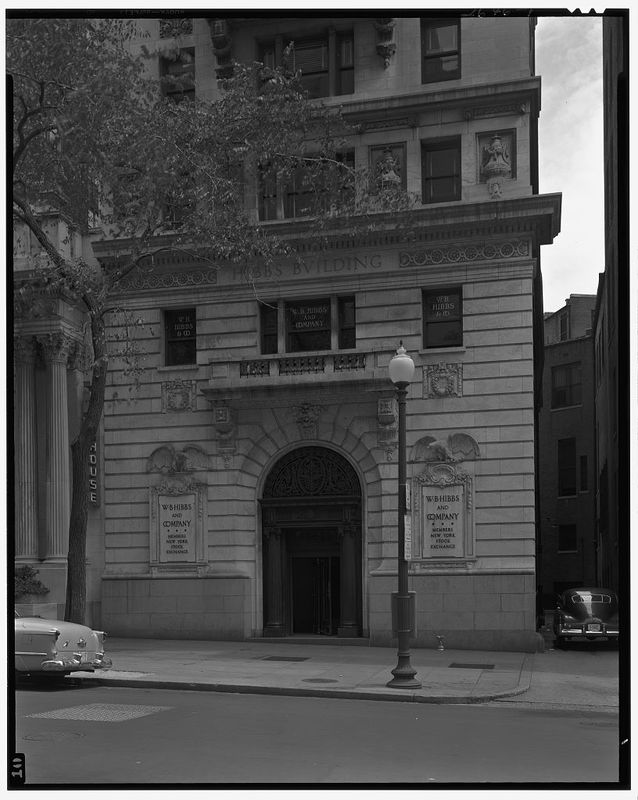 Hibbs Building, 15th St. and Pennsylvania Ave. Exterior of Hibbs Building, ca. 1920-1950