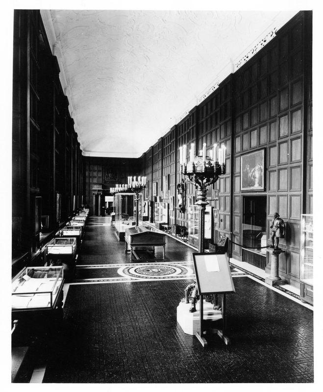 Folger Shakespeare Library interior, 1969