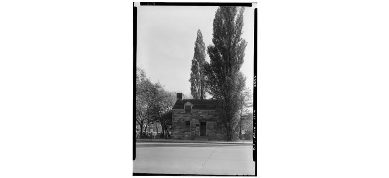 Lockkeeper's house, circa 1934-1935