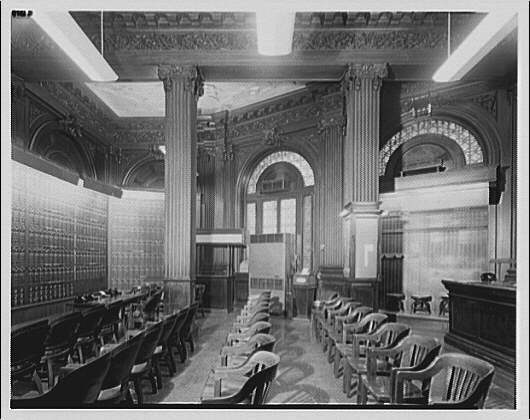 Hibbs Building, 15th St. and Pennsylvania Ave. Interior of Hibbs Building, ca. 1920-1950