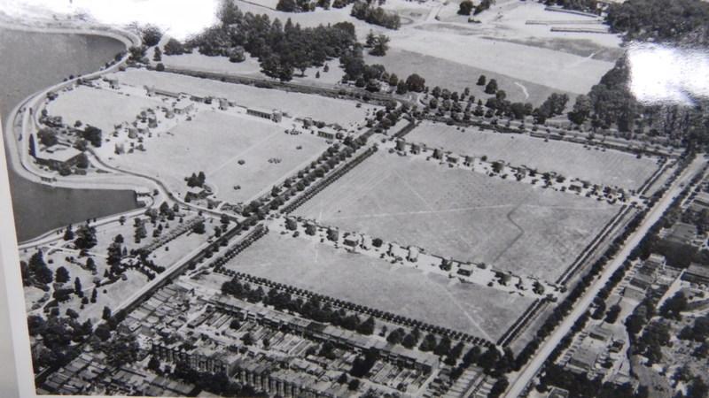 McMillan Park Reservoir Aerial View