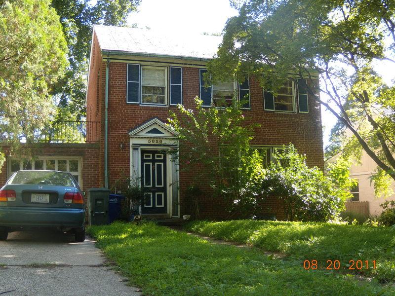 Franklin Kameny Residence, Front Entrance