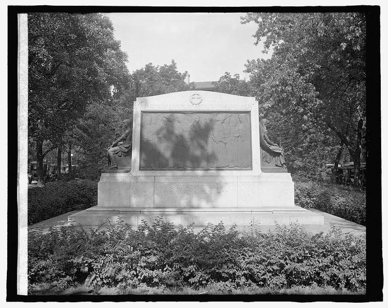 Nuns Memorial, Conn. & R.I. Ave., [Washington, D.C.
