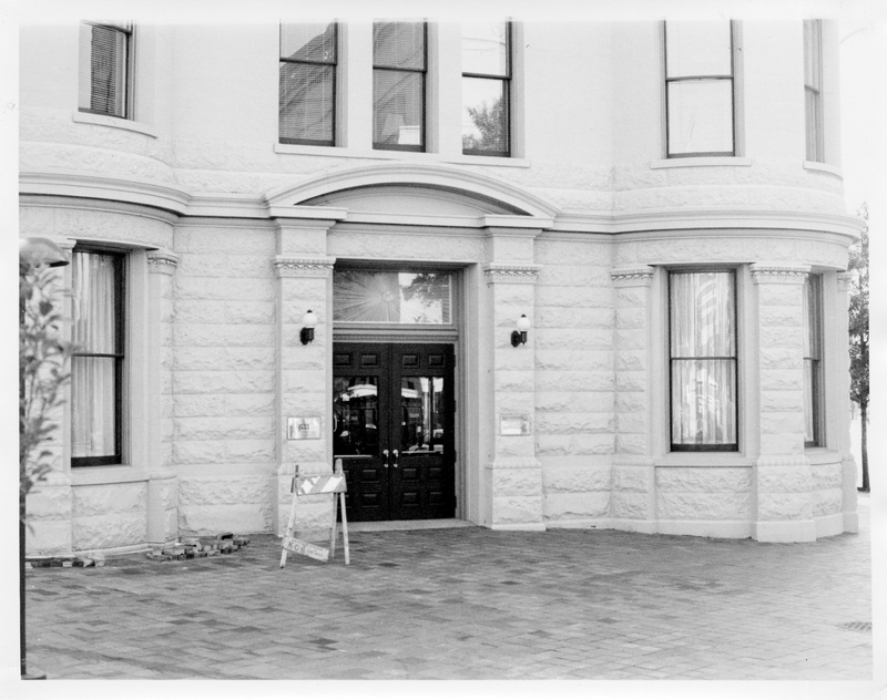 Apex Building, 633 Pennsylvania Ave., NW, entrance detail facing east, 9/1988