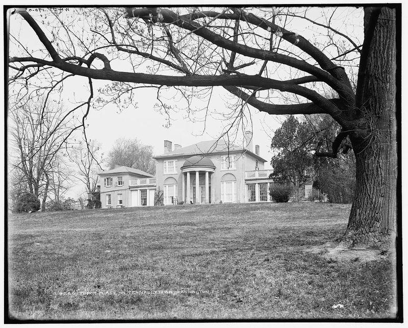 Tudor Place, circa 1902