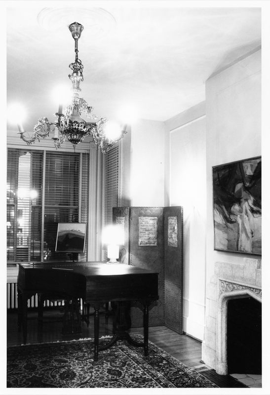 Evans-Tibbs House, Interior
