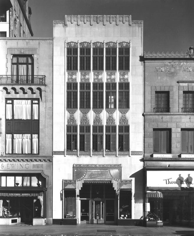 Brownley Confectionery Building, 1933