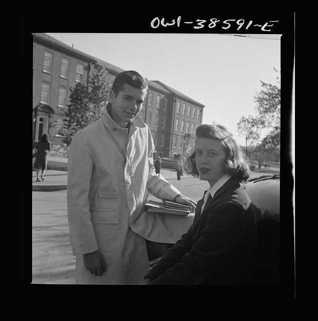 Washington, D.C. After school at Woodrow Wilson High School