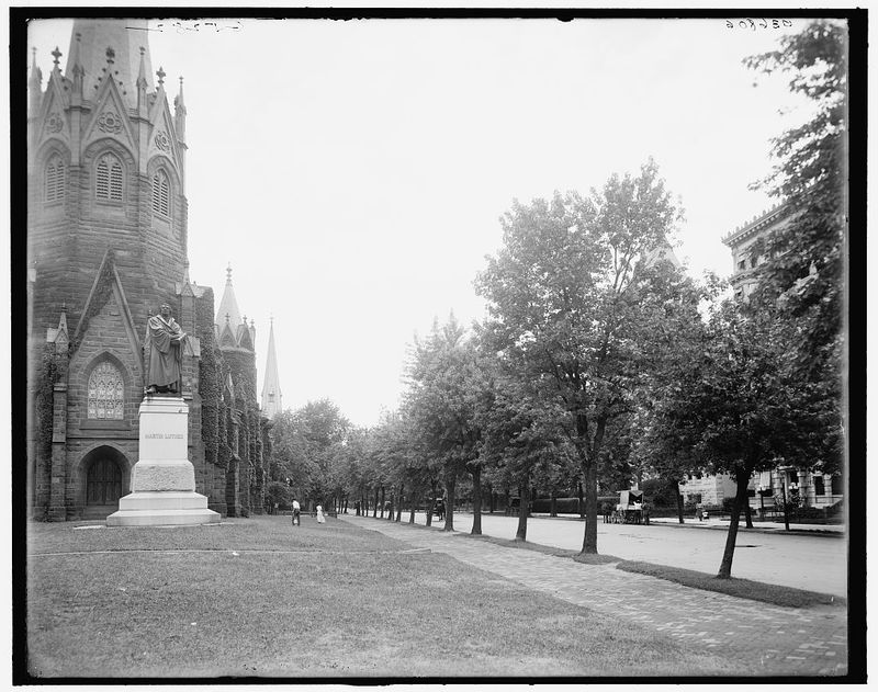 [Vermont Avenue, Washington, D.C.], [between 1905 and 1920]