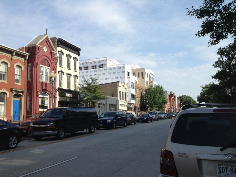 Modern photo of Blagden Alley/Naylor Court Historic District