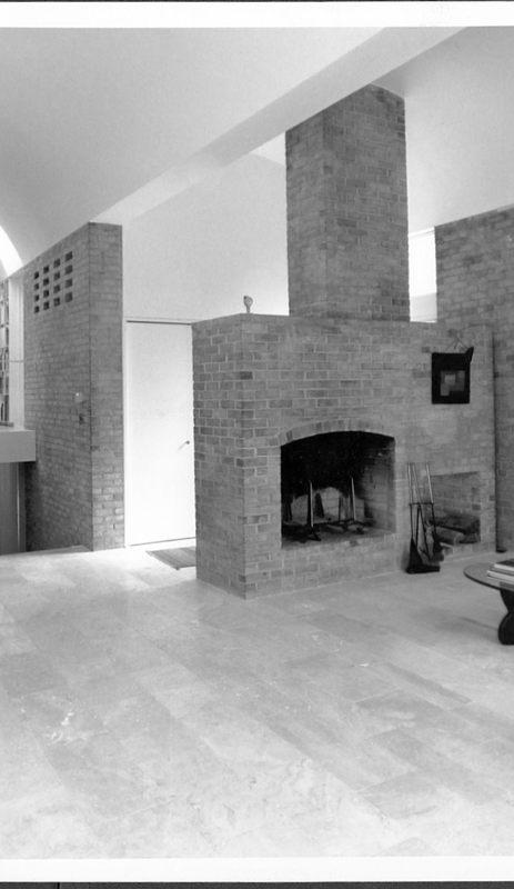 William Slayton House, Fireplace