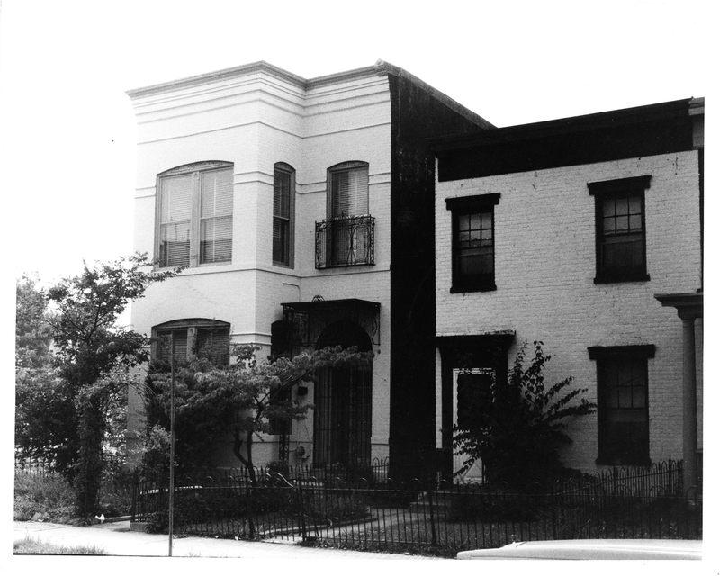 Evans-Tibbs House, Front Entrance