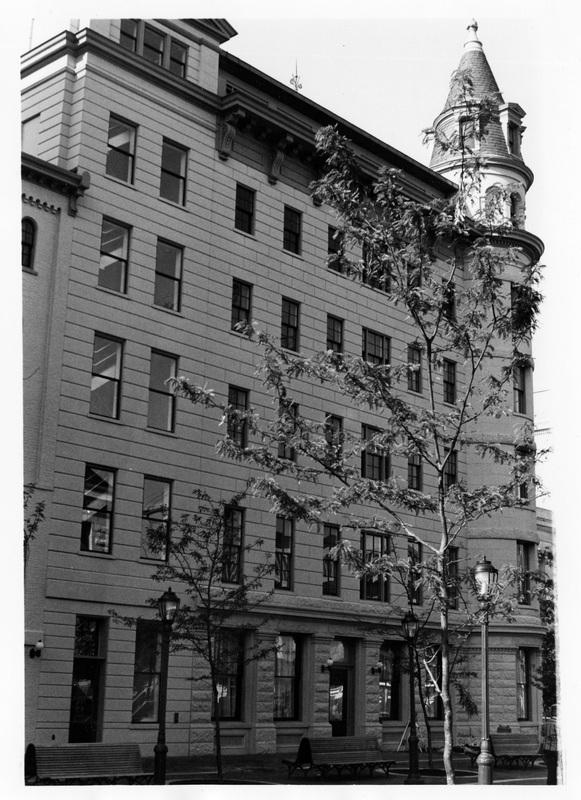 Apex Building, 633 Pennsylvania Ave., NW, facing southwest, 9/1988