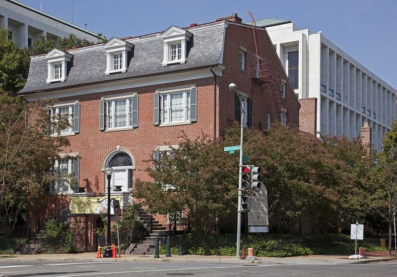 The Sewall-Belmont House, the corner of Constitution Ave. and 2nd St., NE, Washington, D.C. 2010