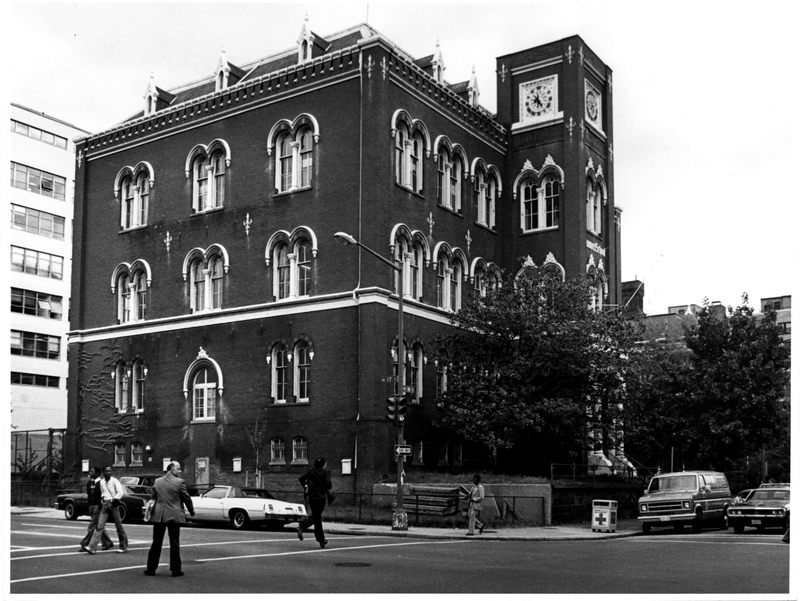 Sumner School, view from southwest, May 1978